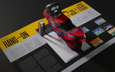 Le Livre SEGA Arcade: Pop-Up History