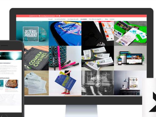 Agence Crossmedia – Site internet